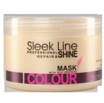 Stapiz Sleek Line Colour Mask maska z jedwabiem do włosów farbowanych 250ml