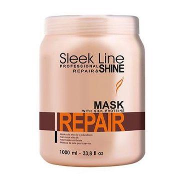 Stapiz Sleek Line Repair Mask maska z jedwabiem do włosów zniszczonych 1000ml
