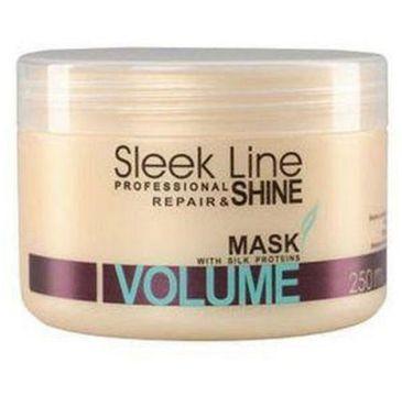 Stapiz Sleek Line Repair Volume Mask maska do włosów z jedwabiem zwiększająca objętość 250ml