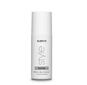 Subrina Style Define Blow Dry lotion przyspieszający suszenie włosów (150 ml)