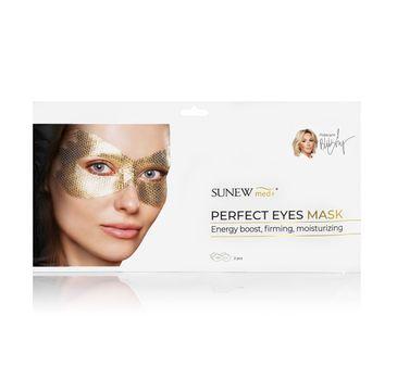 SunewMed+ Sunew Med Aktywna maska płatkowa Regeneracja Oczu (2 szt.)