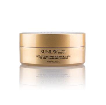 Sunew Med – Odmładzające płatki pod oczy i bruzdy nosowe XXL (60 szt.)