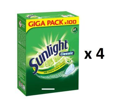 Sunlight Classic tabletki do zmywarki Citrus Fresh 4x100szt