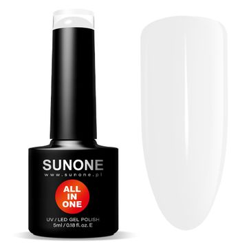 Sunone All In One lakier hybrydowy 3w1 B01 Blanka (5 ml)