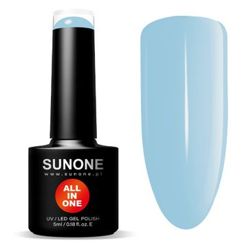 Sunone All In One lakier hybrydowy 3w1 N01 Nina (5 ml)