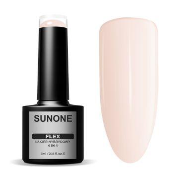 Sunone – Flex 4in1 lakier hybrydowy 100 Beige (5 ml)
