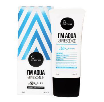 Suntique I'm Aqua Sun Essence SPF50+ PA++++ krem przeciwsłoneczny z bardzo wysokim filtrem UV (50 ml)
