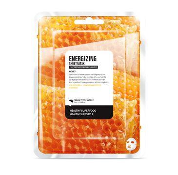 Superfood For Skin Energizing Sheet Mask - energetyzująca maseczka do twarzy Miód 25 ml