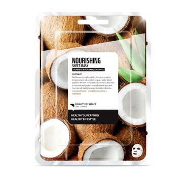 Superfood For Skin Nourishing Sheet Mask - odżywcza maseczka do twarzy Kokos 25 ml