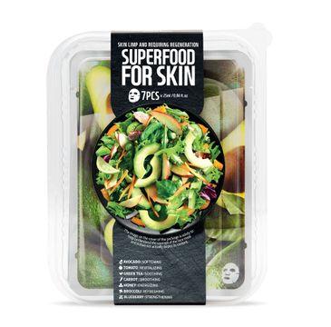 Superfood For Skin Skin Limp And Requiring Regeneration - regenerująco-wygładzająca maska do skóry pozbawionej blasku i energii 7x25 ml