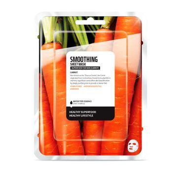 Superfood For Skin Smoothing Sheet Mask - wygładzająca maseczka do twarzy Marchewka 25 ml