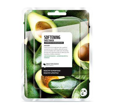 Superfood For Skin Softening Sheet Mask - zmiękczająca maseczka do twarzy Awokado 25 ml