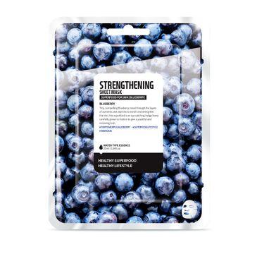 Superfood For Skin Strengthening Sheet Mask - wzmacniająca maseczka do twarzy Borówka 25 ml