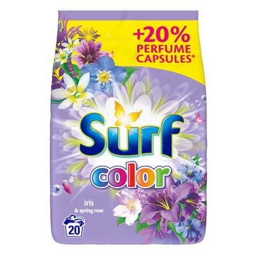 Surf Color Iris & Spring Rose proszek do prania do koloru 1,3kg