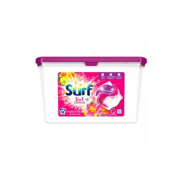 Surf Color Kapsułki do prania Tropikalna Lilia & Ylang Ylang  (1op.- 34 szt.)