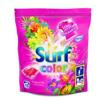 Surf Color Kapsułki do prania Tropikalna Lilia & Ylang Ylang  (1op. - 15 szt.)