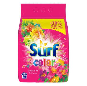 Surf Color Tropical Lily & Ylang Ylang proszek do prania do koloru 3,9kg