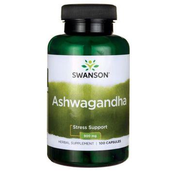 Swanson Ashwagandha suplement diety 100 kapsułek