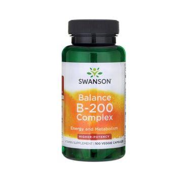 Swanson Balance B-200 suplement diety 100 kapsułek