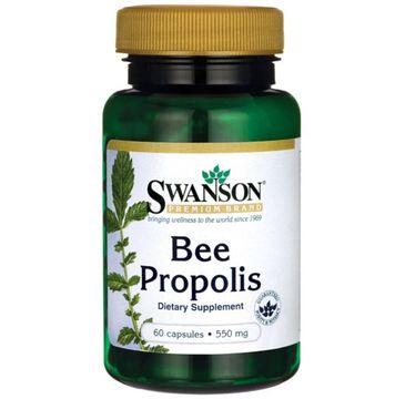 Swanson Bee Propolis 550mg suplement diety 60 kapsułek