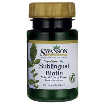 Swanson Biotyna suplement diety 60 tabletek