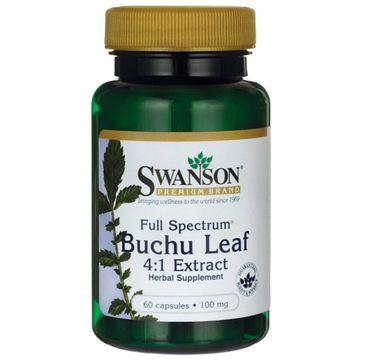 Swanson FS Buchu Leaf Bukko 100mg suplement diety 60 kapsułek