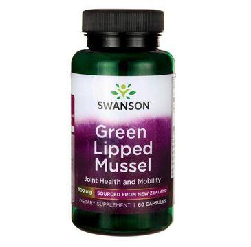 Swanson Green Lipped Mussel 500mg suplement diety 60 kapsułek