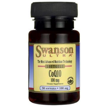 Swanson Koenzym Q10 100mg suplement diety 50 kapsułek