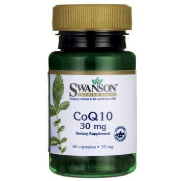 Swanson Koenzym Q10 30mg suplement diety 60 kapsułek