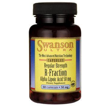 Swanson Kwas R-Ala (R-Fraction) 50mg suplement diety 60 kapsułek