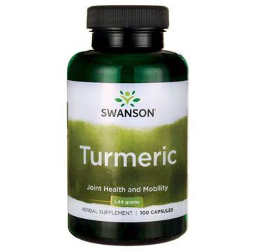 Swanson Turmeric (Kurkuma) 720mg suplement diety 100 kapsułek