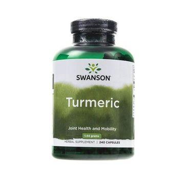 Swanson Turmeric (Kurkuma) 720mg suplement diety 240 kapsułek