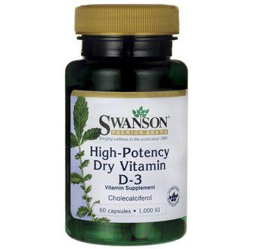 Swanson – Witamina D3 1000IU suplement diety (60 kapsułek)