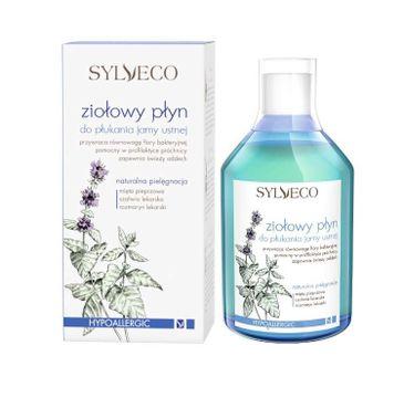Sylveco – Ziołowy płyn do płukania jamy ustnej (500 ml)