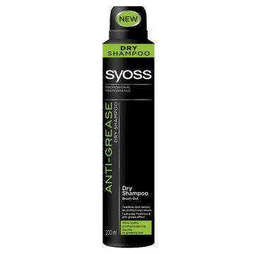 Syoss Anti-Greasse szampon suchy do włosów przetłuszczających się 200 ml