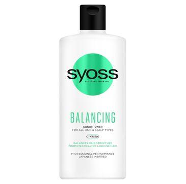 Syoss Balancing Conditioner – odżywka do każdego rodzaju włosów i skóry głowy (440ml)