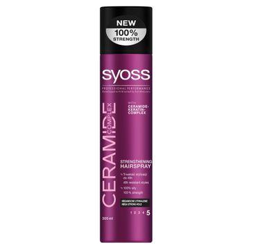 Syoss Ceramide Complex lakier do włosów megamocny 300 ml