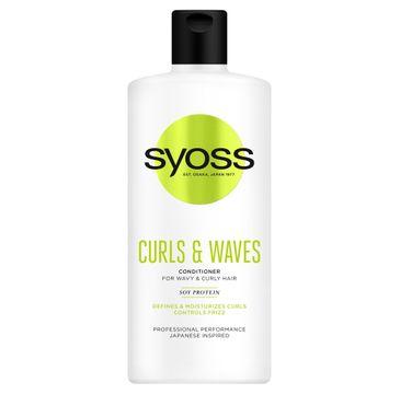 Syoss – Curls & Waves Odżywka do włosów podkreślająca loki (440 ml)