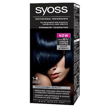 Syoss farba do każdego typu włosów granatowa czerń nr 1-4 1 op.