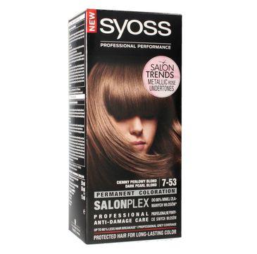 Syoss farba do włosów 7-53 Ciemny Perłowy Blond 1 op.