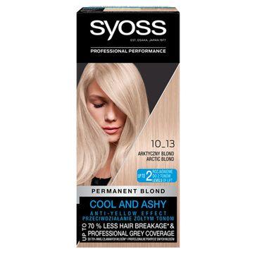 Syoss – Farba do włosów Arktyczny blond nr 10-13  (1 op.)