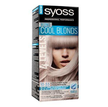 Syoss farba do włosów Cool Blonds 10-55 Ultra Platynowy Blond 1 op.