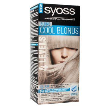 Syoss farba do włosów Cool Blonds 12-59 Chłodny Platynowy Blond 1 op.
