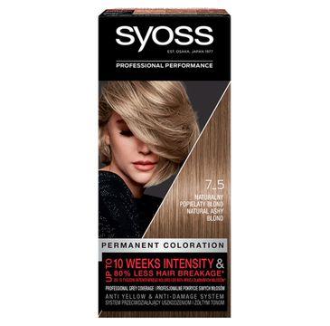 Syoss farba do włosów Naturalny popielaty blond nr 7-5 (1 op.)