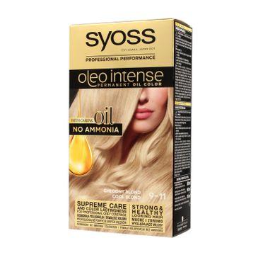 Syoss – Farba do włosów Oleo 9-11 chłodny blond (1 szt.)