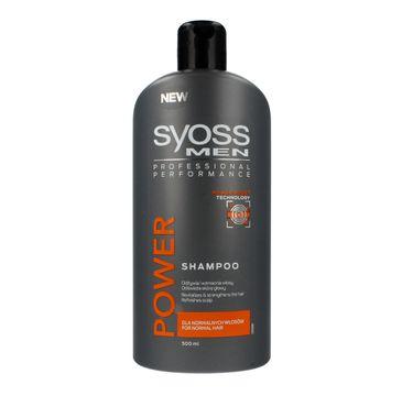 Syoss Men Power & Strengh szampon do włosów 500 ml