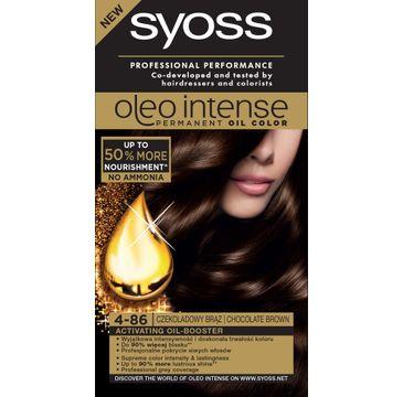 Syoss Oleo farba do każdego typu włosów 4-86 czekoladowy brąz 115 ml