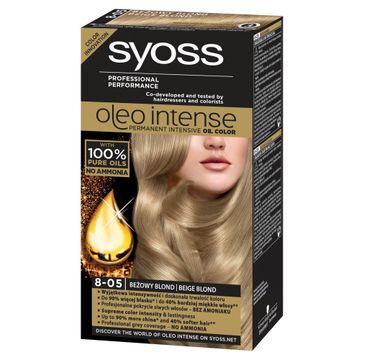 Syoss Oleofarba do włosów 8-05 beżowy blond 115 ml