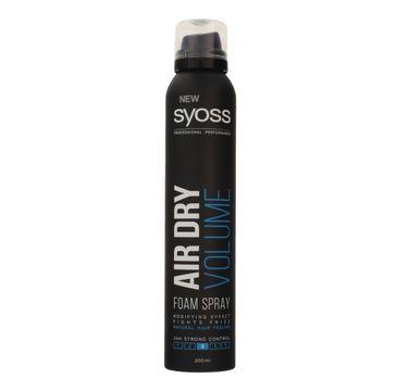 Syoss pianka do włosów Air Dry Volume 200 ml