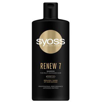 Syoss – Renew 7 Shampoo szampon do włosów bardzo zniszczonych (440 ml)